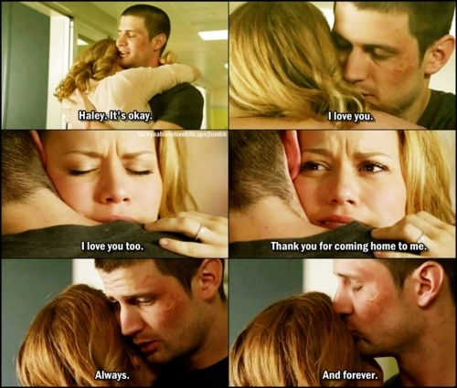 Most perfect OTH moment. <3