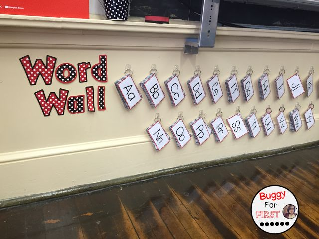 Oh Portable Word Wall, you are an engaging tool for sure!