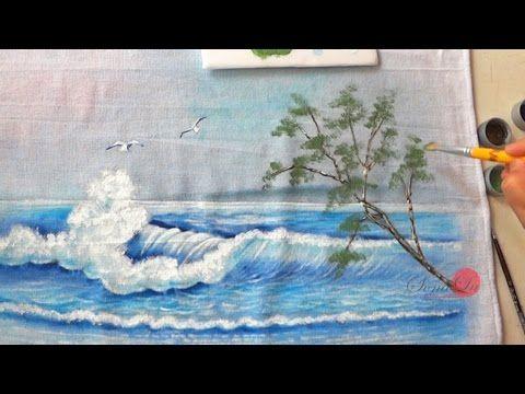 Se você gosta de pinturas em tecidos, nesse vídeo ensino os materiais básicos para pinturas em tecidos no estilo country. A arte de pinturas em tecidos é uma...
