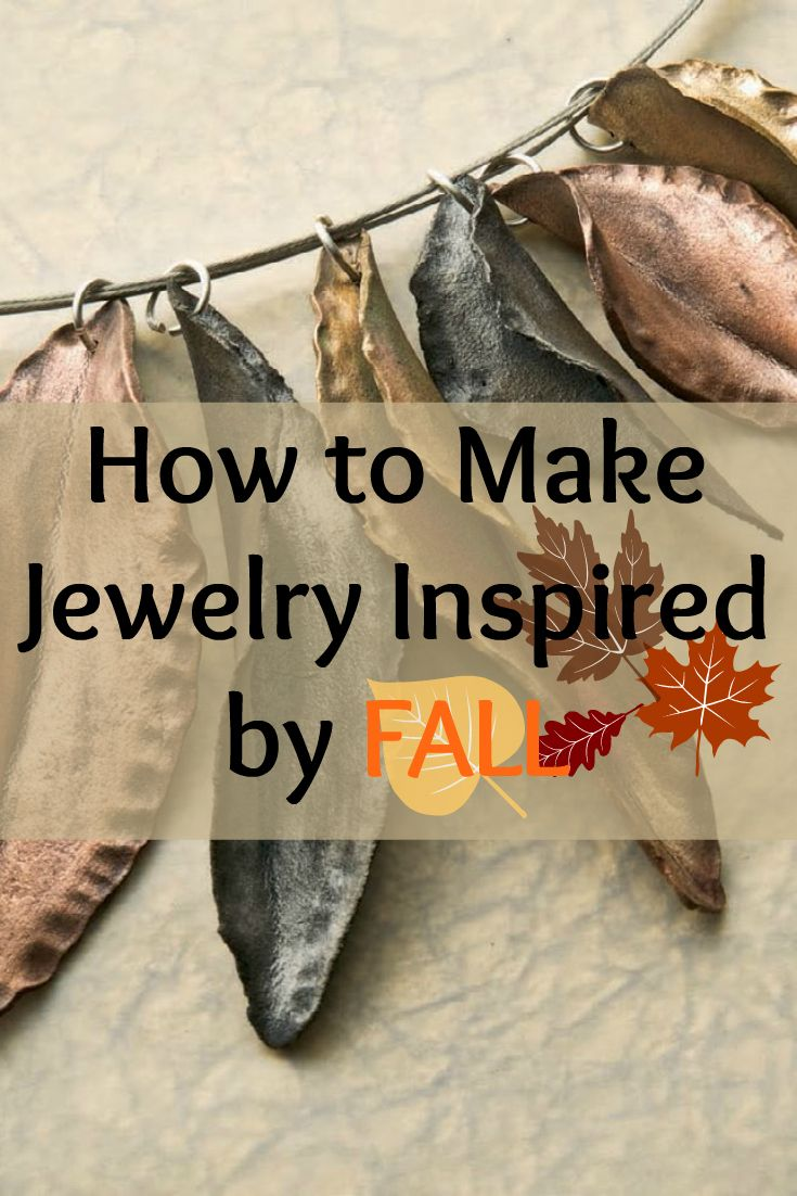 If you like Fall, then you'll LOVE these FREE jewelry-making projects inspired by Fall! #falljewelry #fall #jewelrymaking
