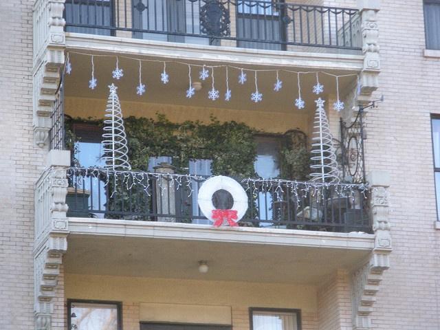 9 Best Christmas Balcony Images On Pinterest Balconies