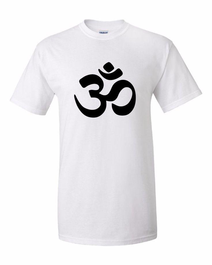BUDDHIST T-SHIRT BUDDHA TSHIRT MEDITATION YOGA ZEN BUDDHISM OM SYMBOL HINDU #Gildan