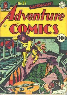 Campo de Zínias: Todas as Capas de Adventure Comics - 1942-43 (All Adventure Comics Covers - 1942-43)