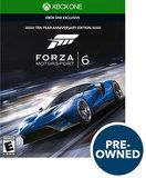 Forza Motorsport 6 - PRE-Owned - Xbox One, Multi, PREOWNED