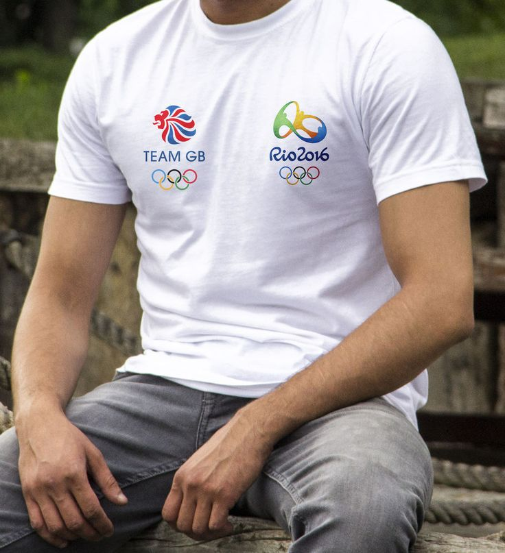 Team Gb Rio Olympics 2016 T-Shirt Top, Olympic T-shirt, Rio Olympic T-shirt,