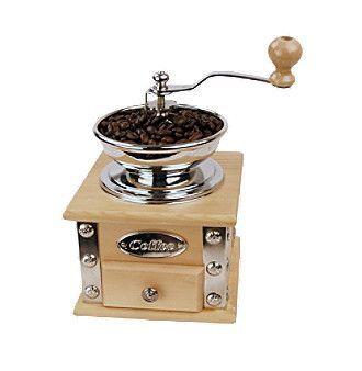Fox Run Craftsmen® Natural Wood Coffee Grinder