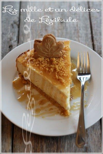 les milles & un délices de ~lexibule~: ~Gâteau au fromage à l'érable~