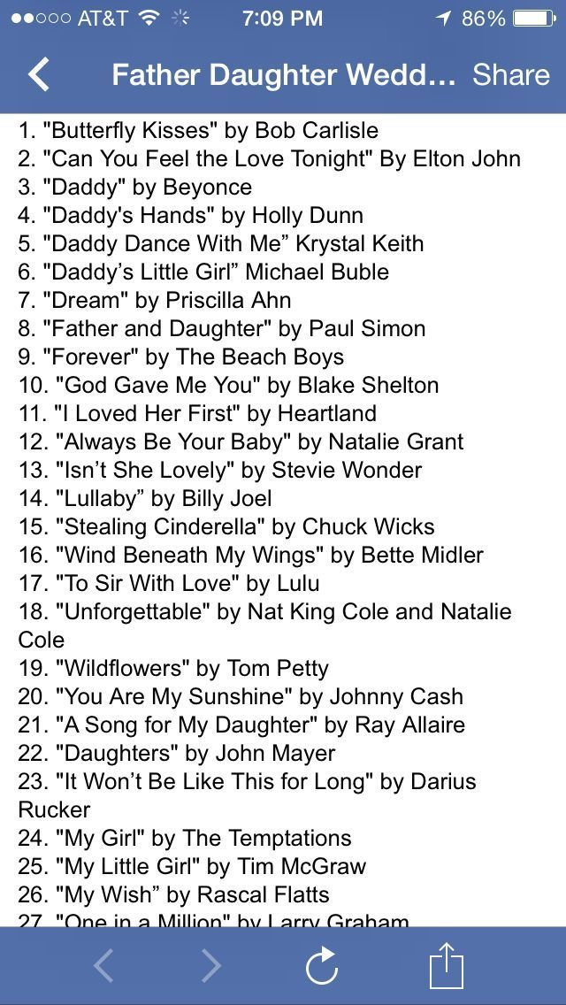 Pin By Karen States On Jewelry Father Daughter Songs Daughter Songs Wedding Songs