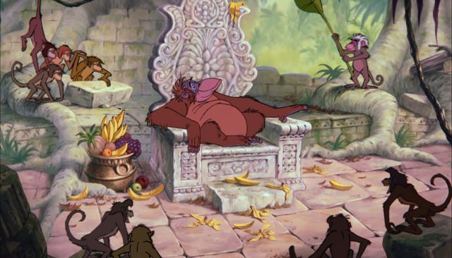 In the court of King Louie, Jungle Book