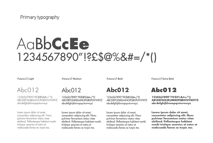 Quality Performers - Primary Typography