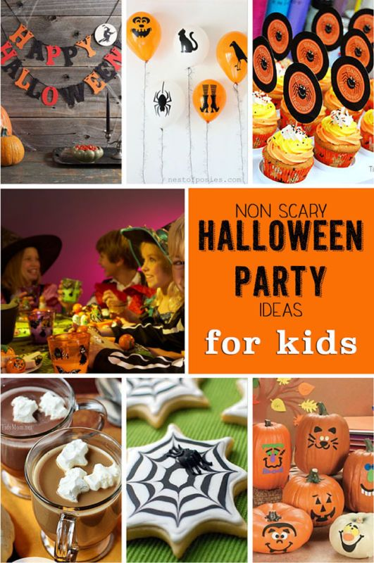 non scary halloween party ideas for kids - Halloween Trick Ideas