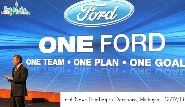 New Year, New Vehicles, New Jobs: Ford News Briefing #fordin2014 ad