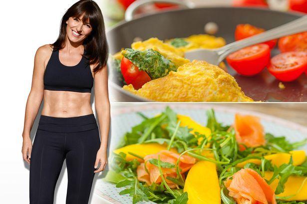 Davina McCall's way to eat your way to a bikini body in five weeks ...