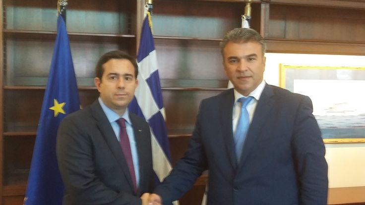 Συνάντηση Ν. Μηταράκη με τον Αναπληρωτή Υπουργό Ναυτιλίας, κ. Χρήστο Ζώη - http://goo.gl/qbrczw
