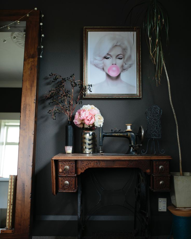 Tour my eclectic home! A little glamour,  vintage, masculine and a tad boho!