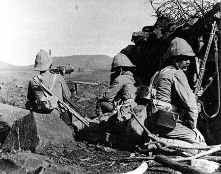 Boer Wars  British troops at Ladysmith