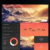 Behance :: SJQHUB™ Visual Data 8 UI dashboard by Jonathan Quintin