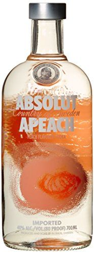 From 21.18 Absolut Apeach Swedish Vodka 70 Cl
