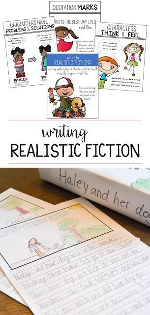 Your first and second grade students will love to write their own realistic fiction stories during writer's workshop! These lessons, activities, and anchor charts!