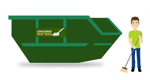Reliable Skip Bin Hire service provider in Footscray at Concorde Skip Bins. Call 04 1345 1187 Visit our site
