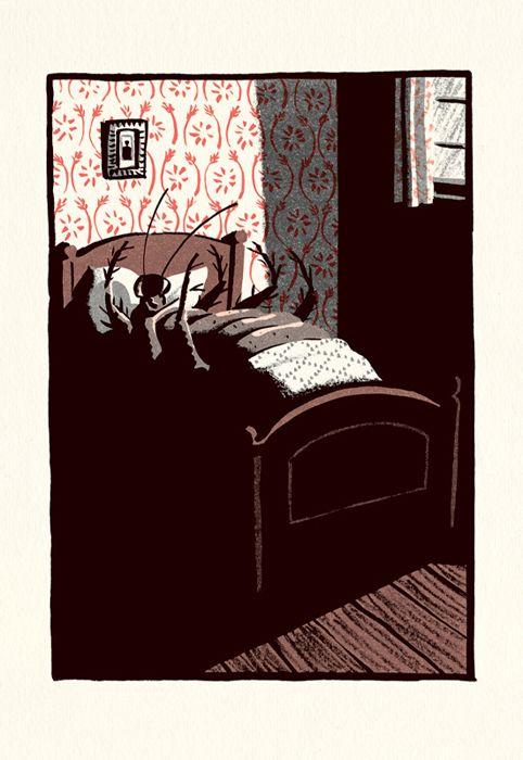 Metamorphosis - Bill Bragg Illustration