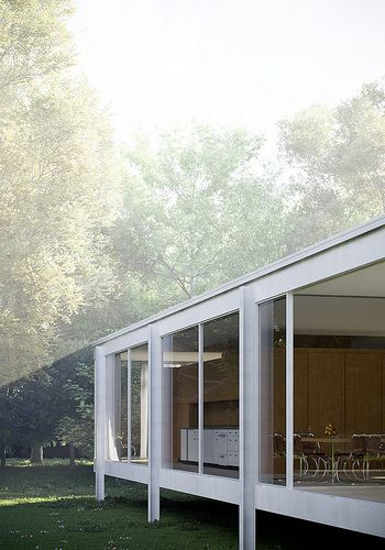 74 best images about Farnsworth House Mies Van Der Rohe on Pinterest