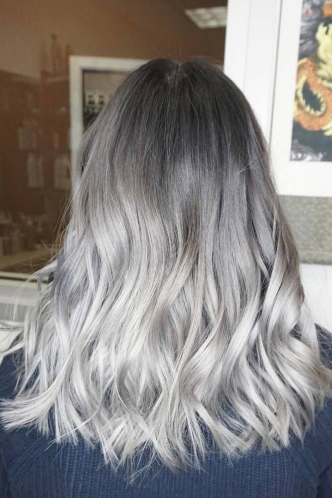 Stylish Grey Ombre Hair picture3