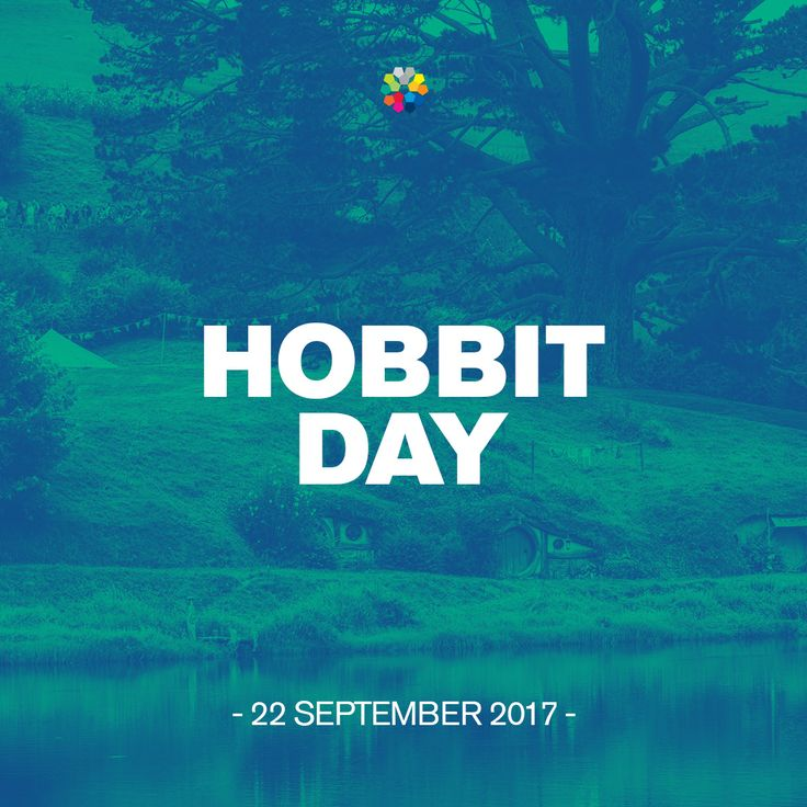 On 22-09-2017, celebrate Hobbit Day! Happy Birthday Baggins and National Hobbit Day!