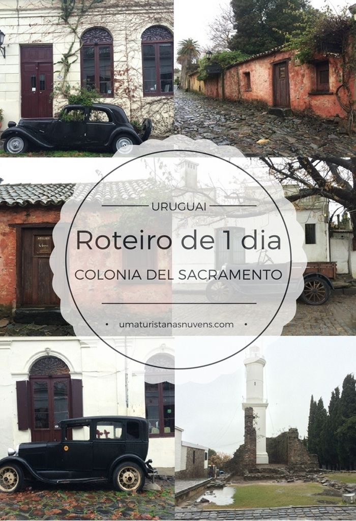 Roteiro prático de 1 dia na cidade mais charmosa do Uruguai, Colonia del Sacramento.