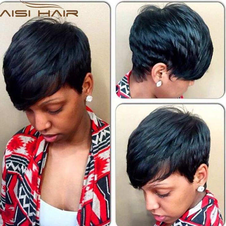 Synthétique Perruques pour Femmes Noires Noir Bouclés Bob Perruque Courte Femelle Perruques pour les Femmes Noires Vente Court Bouclés Cheveux Noirs