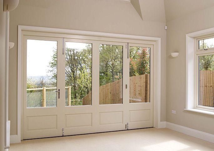 Best 20 bi fold patio doors ideas on pinterest bifold for White wooden french doors