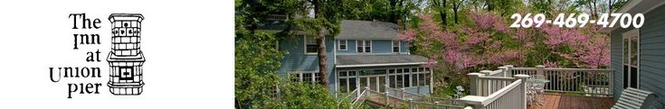 The Inn at Union Pier, lodging in southwest Michigan. Bed and Breakfast.
