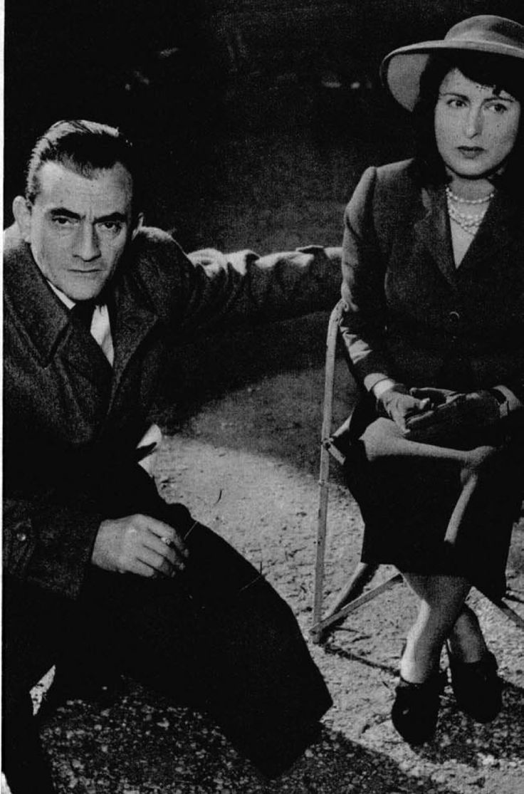 Luchino Visconti ed Anna Magnani,1952
