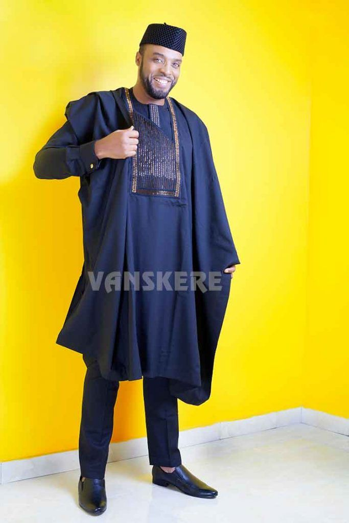 Nigerian designerEvans Akere ofthe menswear brand Vanskere has so much uniqueness, standout from the crowd,