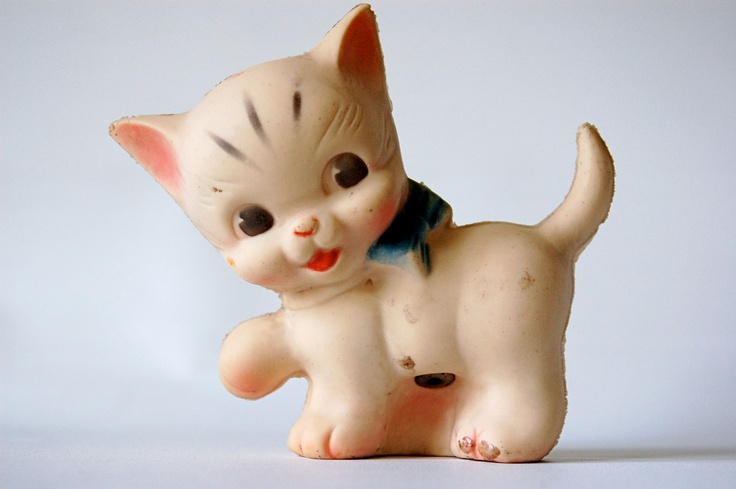 Rubber Toy Kitten