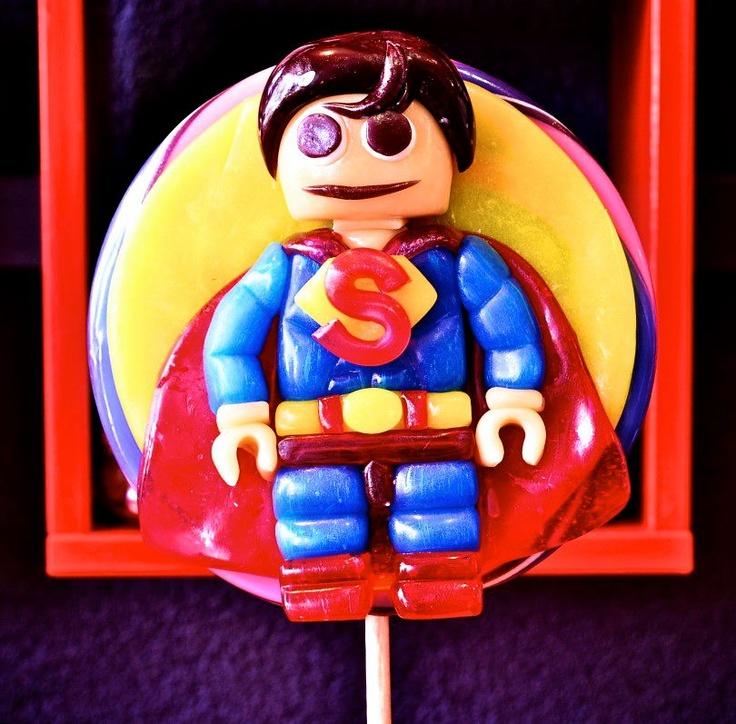 Superman Lollipop: Sons Obsession Hi, Superman Lollipops
