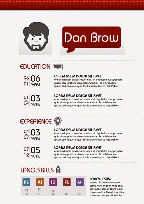 81 best images about resume templates    plantillas on pinterest