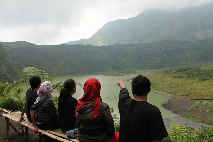 Galunggung' crater, Tasikmalaya, West Java ID