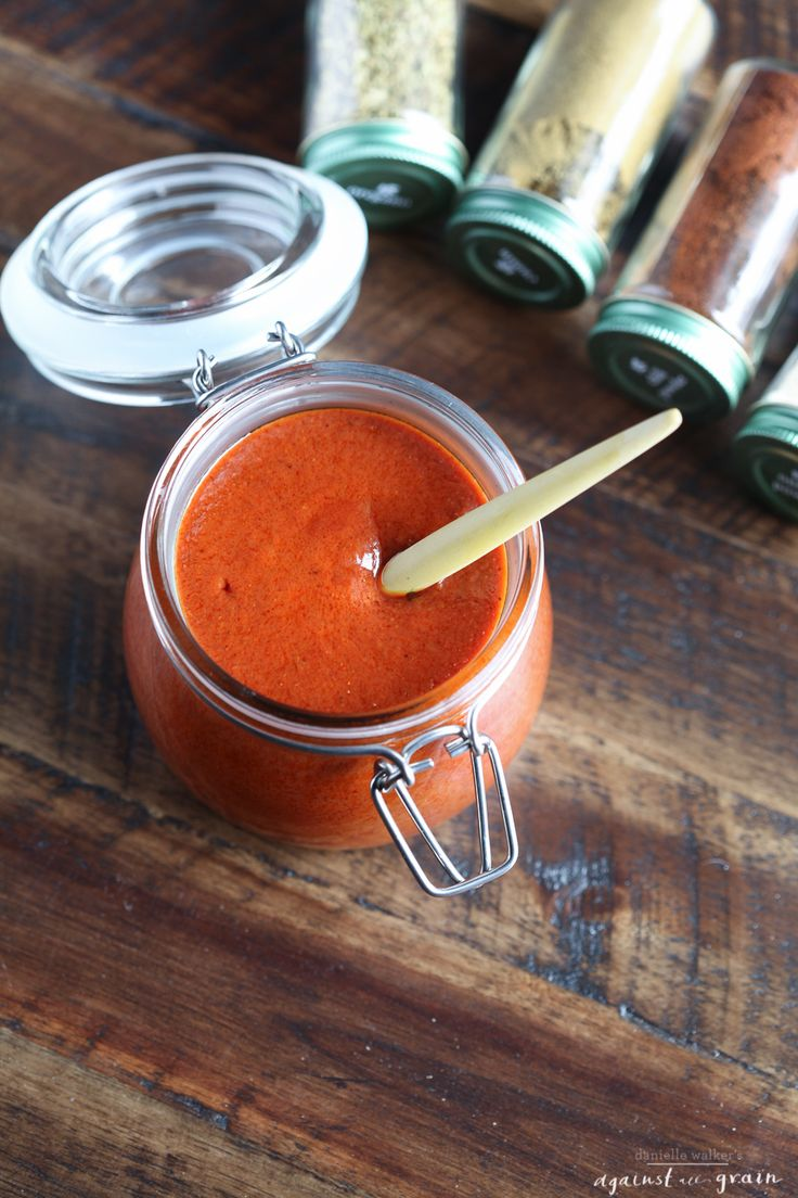 Clean recipe enchilada sauce -- so good with organic chicken, corn tortillas and cheese!