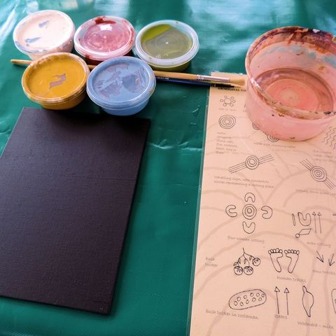 Maruku Dot Painting Paint Tubs