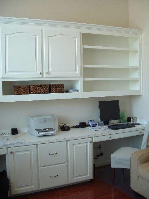 Home Office #deskspace #storage                                                                                                                                                                                 More