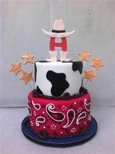 Houston Rodeo Cake =) ... Texas