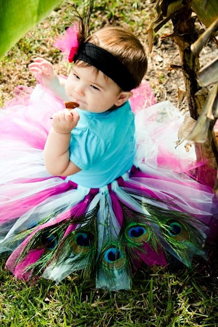 Baby Peacock Costume - Super Cute!