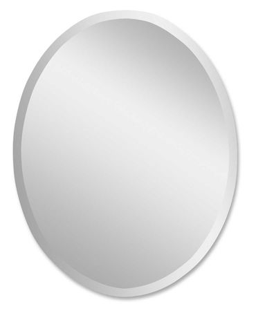 Uttermost Frameless Large Oval Mirror