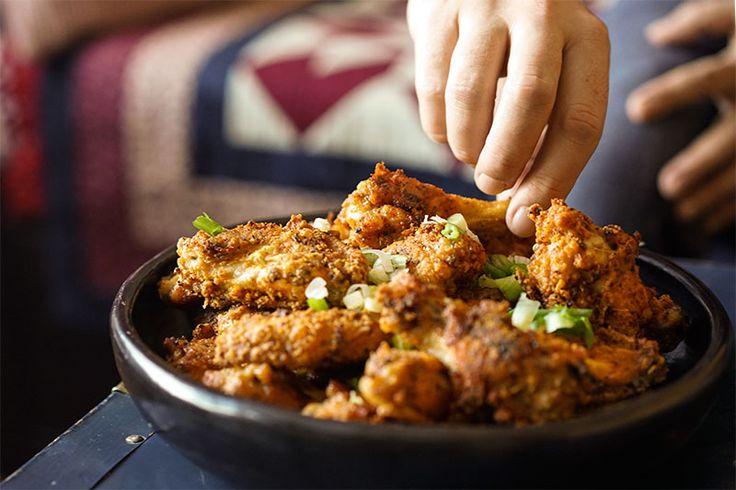 Ailes de poulet croustillantes au cinq-épices chinois