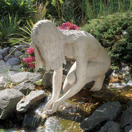 26 best garden statuary images on Pinterest Bronze sculpture