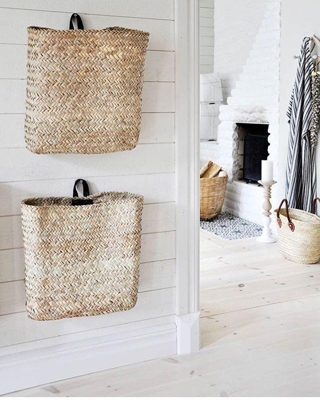 Wandkörbe für Kleinram, Schals, Handschuhe, Magazine etc. Tine K. Home