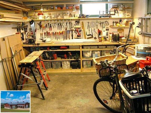 Into Woodworking? Check Out These Garage Shop Ideas.