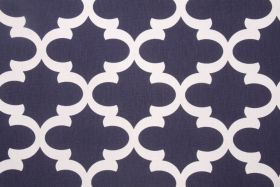 Pillow fabric for living room. Fabric by the Yard :: Premier Prints Fynn Printed Cotton Drapery Fabric in Blue & White $7.48 per yard - Fabric Guru.com: Fabric, Discount F...