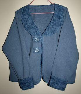 Caron's Quilting Blog: Texture Magic Sweatshirt Makeover
